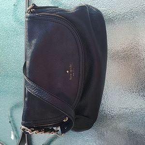 Kate Spade Cobble Hill Black Leather Medium Size Shoulder Bag